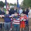 Flag Retirement Ceremony with the Boy Scouts & Cub Scouts